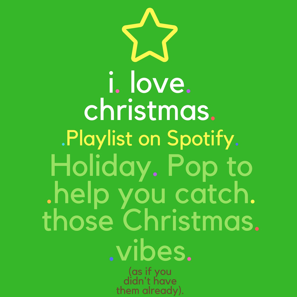 get in the holiday spirit my christmas playlist is on spotify kristina lachaga